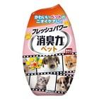 Жидкий дезодорант-ароматизатор для комнат ST Shoushuuriki против запаха домашних животных c ароматом фруктового сада, 400 мл