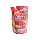 Увлажняющий мягкий шампунь Mitsuei Soft Three со скваланом, пятью растительными маслами и экстрактом алоэ, дойпак, 400 мл