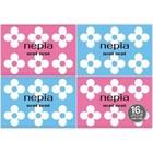 Бумажные двухслойные носовые платки Nepia nepi nepi 10 шт в упаковке, спайка из 16 упаковок   427234
