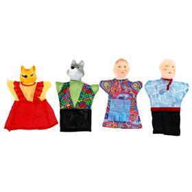 Кукольный театр «Волк и лиса», 4 персонажа