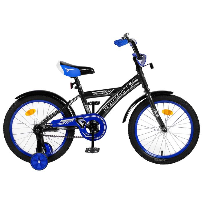"Велосипед 18"" Graffiti Storman RUS 2019, цвет серый"
