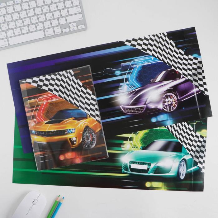 Обложка со вставками «Авто», 23.2×45 см - фото 966338