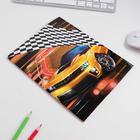 Обложка со вставками «Авто», 23.2×45 см - фото 966341