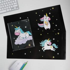 "Cover with inserts ""Dreamy unicorn"", 232 x 450 mm"