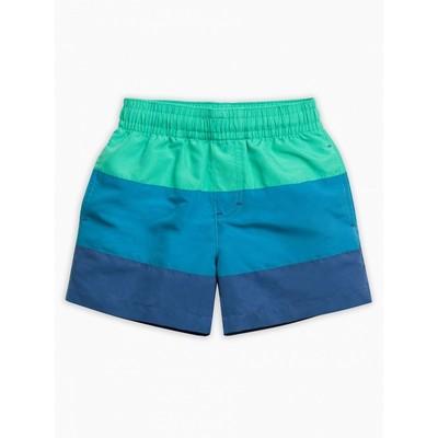 Шорты купальные для мальчика, рост 110 см, цвет морская волна