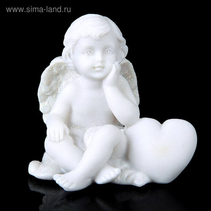 """Сувенир """"Ангел с сердечком-подушкой"""" МИКС"""