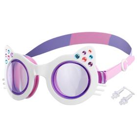 Goggles, color-white