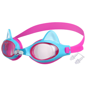 Goggles, baby Kitty, color pink-blue