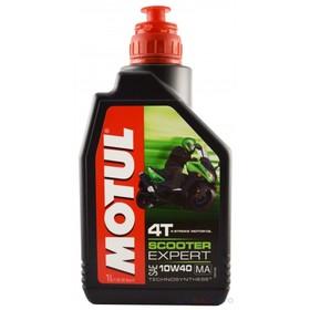 Моторное масло MOTUL Scooter Expert 4T 10W-40 MA, 1 л