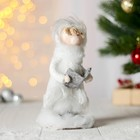 "Christmas figurine ""Girl singer"""