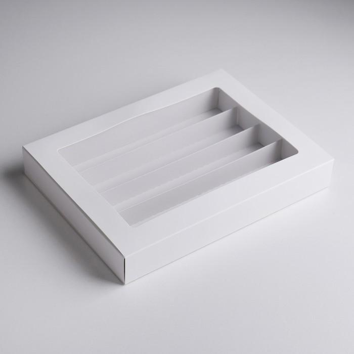 Контейнер универсальный с делителем, 19 х 26 х 3,5 см - фото 184335799