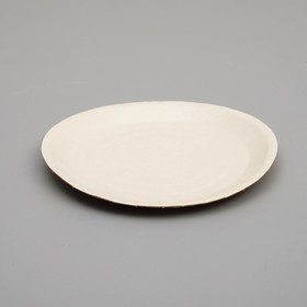 Биоразлагаемая тарелка, 18 х 18 см