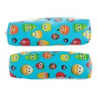 "Pencil case school ""Fun fruits"", a soft MIX"