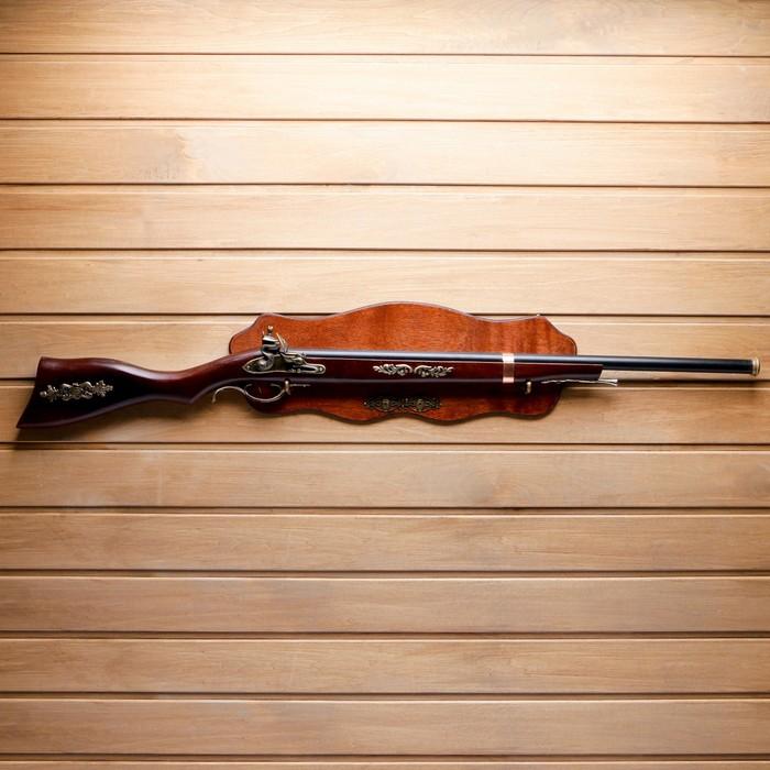 Сувенирное ружье на планшете, 100х20 см - фото 8875538