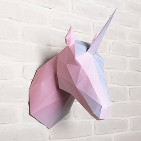 "Set to create polygon shapes ""Unicorn"", 32.5 x 44 cm"