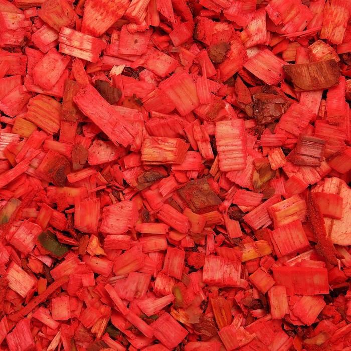 Щепа декоративная, красная 60л.