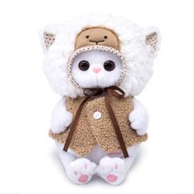 Мягкая игрушка «Кошечка Ли-Ли Baby» в костюме овечки, 20 см
