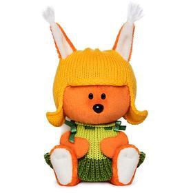 Мягкая игрушка «Белка Бика» в шапочке и платье, 15 см