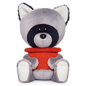Мягкая игрушка «Енот Лёка» в свитере, 15 см
