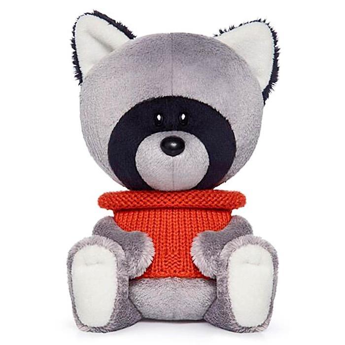 Мягкая игрушка «Енот Лёка» в свитере, 15 см - фото 1060537