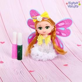 Кукла малышка Юленька «Создай крылья своей мечты»: два геля с блёстками, МИКС
