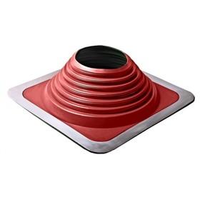 Проходник Мастер Флеш №8, силикон, d 178-330 мм, цвет красный