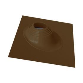 Проходник Мастер Флеш №1-RES, силикон, d 76-203 мм, цвет коричневый