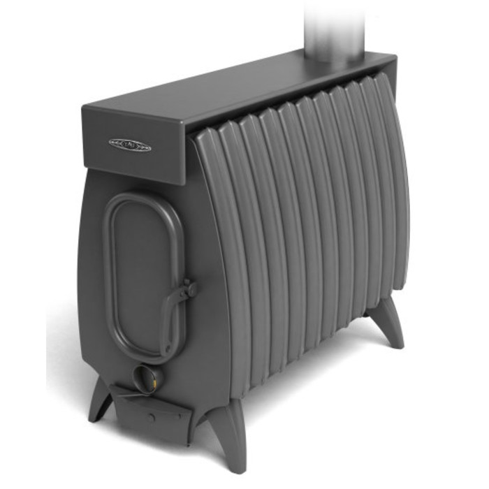 Печь отопительно-варочная «Огонь-батарея 11 Лайт», дровяная, цвет антрацит