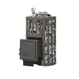 Печь для бани «Везувий Ураган Ковка 16 (271)», закрытая каменка, дровяная