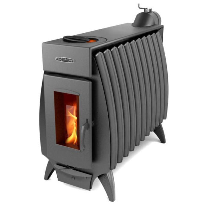Печь отопительно-варочная «Огонь-батарея 11», дровяная, цвет антрацит