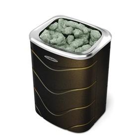 Печь для бани электрическая «Примавольта», 9 кВт, цвет чёрная бронза