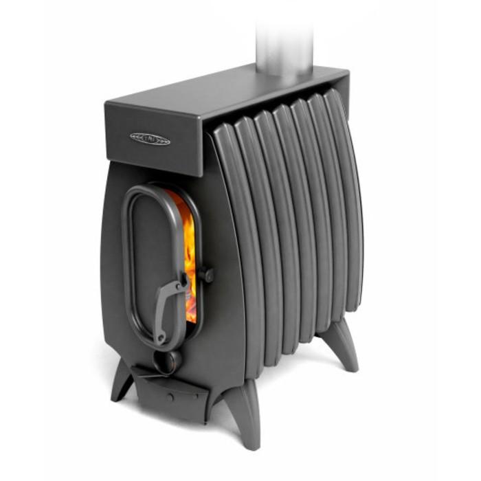 Печь отопительно-варочная «Огонь-батарея 7 Лайт», дровяная, цвет антрацит