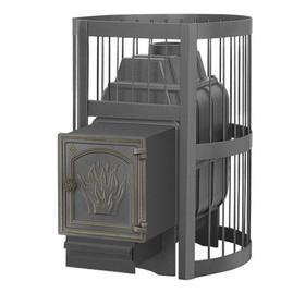 Печь для бани «Везувий Легенда Стандарт 16 ДТ 4», дровяная