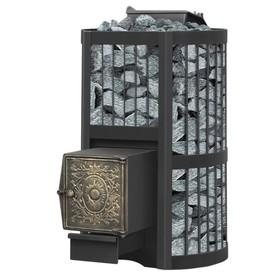 Печь для бани «Везувий Ураган Стандарт 22 (ДТ 4)», закрытая каменка, дровяная