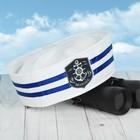 """Шляпа юнга взрослая """"Marine"""""""