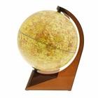Глобус Луна, диаметр 210 мм, треугольная подставка