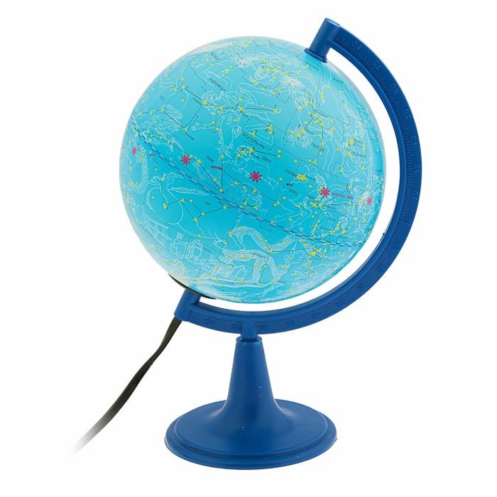 Глобус Звёздного неба, диаметр 150 мм, с подсветкой
