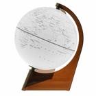 Глобус Земли контурный, диаметр 210 мм, треугольная подставка
