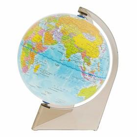 Глобус Земли политический, 150 мм, треугольная подставка