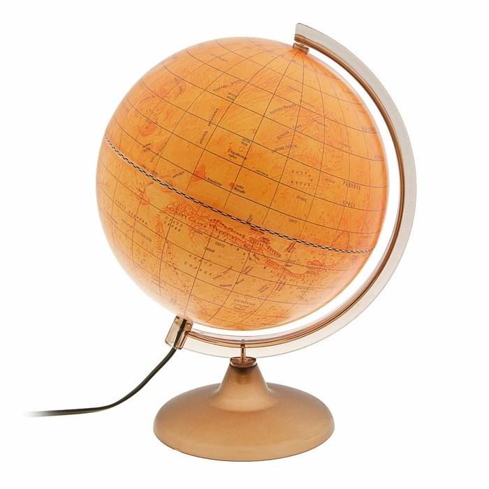 Глобус Марса, диаметр 250 мм, с подсветкой