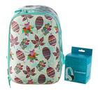 Рюкзак каркасный Seventeen 39*28*15 дев в подарок наушники, бирюзовый SKEB-UT1-866