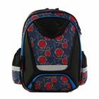 Рюкзак школьный эргономичная спинкая для мальчика Transformers Prime 41*30*13 2 отделения, чёрный TREB-MT2-155