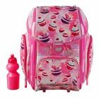 Ранец на замке Seventeen 38*30*19 дев напол: мешок, пенал, бутыл, ланчбокс, розовый