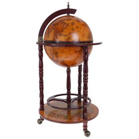 Глобус-бар декоративный напольный малый
