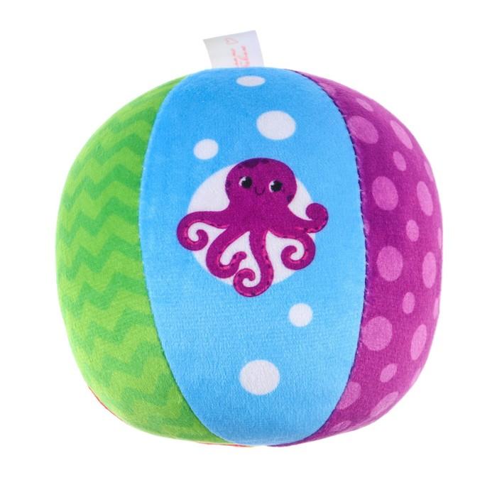 Развивающий мячик «Цифры» с погремушкой - фото 76141854