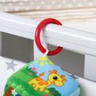 Подвеска кубик мягкая с прорезывателем «Африка», на кроватку/коляску - фото 105524626