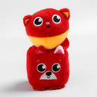 Набор развивающих игрушек, 2 предмета: кубик «Собачка», мячик «Котик» - фото 105531651