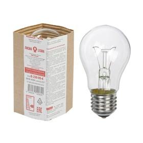 """Лампа накаливания """"Лисма"""", Б, E27, 95 Вт, 230 В"""
