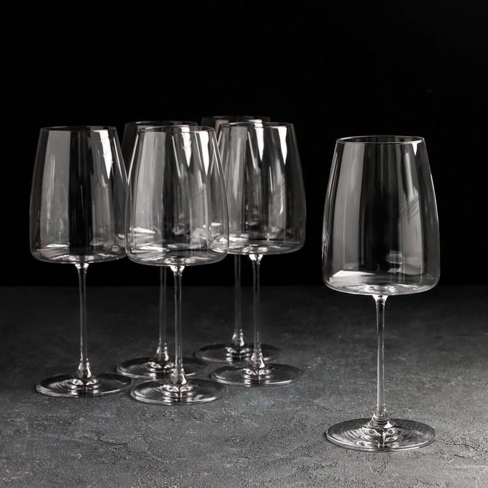 """Набор бокалов для вина 670 мл """"Lord"""", 6 шт"""