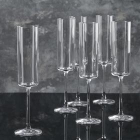 """Набор бокалов для шампанского 170 мл """"Medium"""", 6 шт"""